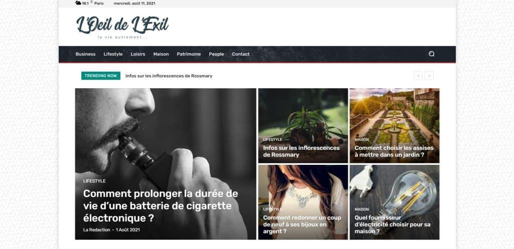 loeildelexile.org